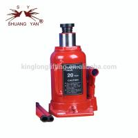 China Hydraulic Bottle Car Jack , Aluminum Racing Jack Portable Red Color on sale