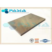 Buy cheap Heat Resistance Stainless Steel Honeycomb Panels For Entertainment Venues product