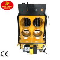 Buy cheap 100L Oil Tank On Top 4 Warm Air Outlet Portable Waste Oil Heater For Chicken from wholesalers
