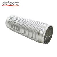 Buy cheap Semi Rigid Flexible Metallic Duct with Galvanized Collars Easy installation product