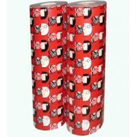 China Christmas gift wrapping paper jumbo roll wholesale on sale