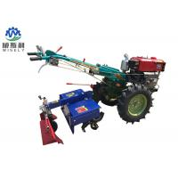 China 8-25 Hp Diesel Walk Tractor Small Farm Equipment With Planter Plough Ridger Trailer on sale