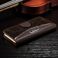 Buy cheap Anti - Dirt Iphone 6 Leather Wallet Case , Colorful Crazy Horse Leather Wallet Case product