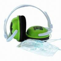 Buy cheap Fresh Headset with 20 to 20kHz, 25mW Rated Power/3.5mm Plug/40mm Driver/6.5mm Microphone/1.5m Cable product