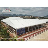 Buy cheap 25 Meter Width Glass Marquee Canopy Tent For Temporary Horse Riding from wholesalers