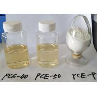 Buy cheap High Efficiency Water Reducer Superplasticizer PCE Polycarboxylate Liquid product