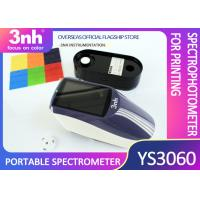 China Handheld Paint Spectrophotometer Equipment YS3060 Touch Screen Easy To Use 3NH on sale