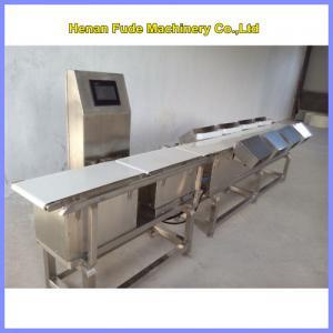 China potato weight sorting machine, potato weight grading machine on sale