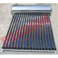 Quality Automatic Solar Water Heating System , Black Pipe Solar Water Heater Multi Purpose for sale