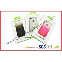 Buy cheap Unique Card Board Packaging With Customized Logo, Mobile Phone Case Paper Packaging Box product