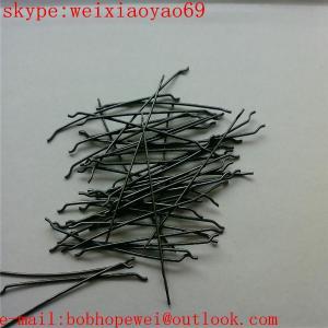 China endhooked steel fiber/hooked end steel fibre on sale
