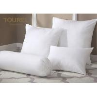 Buy cheap 100% Polyester Fiber Ball Quilted Hotel Comfort Pillows Microfiber Filling product