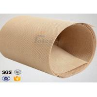 China Plain Width Ptfe Coated Fiberglass Cloth for Food Baking / Heat Sealing Machine on sale