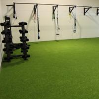 China Three Color Tone Sports Synthetic Grass For Gym Or Other Training Places on sale