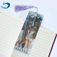 Buy cheap Lenticular Printing Services Cartoon 3D Hologram Bookmark For Kids product