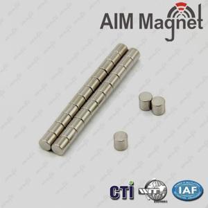 Buy cheap Sintered Neodymium Iron-Boron Cylinder Magnet D19 x 10mm product