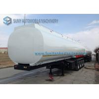 Heavy Duty Elliptical 4 Axle Oil Tank Trailer Container Semi Trailer