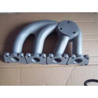 Buy cheap OEM Iron Steel Sand Casting Parts / Automobile Exhaust Pipe Parts ISO 9001 Approval product