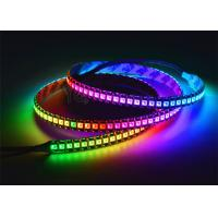 Buy cheap APA102 Addressable RGB LED Strip , DC 5V RGB LED Strip Adjusted Colors product