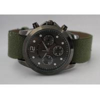 China Custom alloy quartz sport watch with moveable Fabric strap for men and women on sale