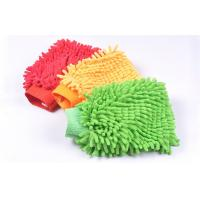 Buy cheap Microfiber Chenille Fabric Car Washing Glove Car Washing Tool product