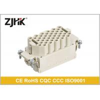 China 16 Amp 40 Pin Heavy Duty Rectangular Connector With Glass Fibre Reinforced PC on sale