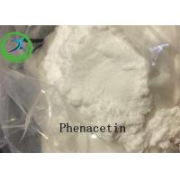 Buy cheap 99% Purity Pharmaceutical Intermediates White Shine Powder Phenacetin domestic shipping in Canada product