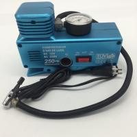 Buy cheap AC110 - 230V and DC12V Plastic Vehicle Air Compressors with Gauge , Car Air Compressor product