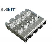 Quality Female Gender SFP Cage Connector 1x4 10G Ethernet Press Fit Without Heat Sink for sale