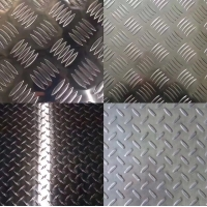 Buy cheap 5052 5 Bar Tread Plate Aluminum Plate Flat Aluminium Sheet Ribbed product