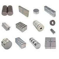 Buy cheap N38 silver Coatings super strong magnetic force Neodymium Ring Magnets product