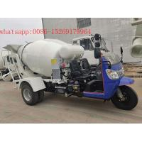 Buy cheap chinese cheap 28-32hp 5 wheeler 2 cubic meters small concrete mixer truck from wholesalers