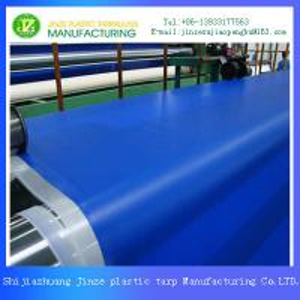 China Higher Tenacity PVC Laminated Tarpaulin Fabric on sale