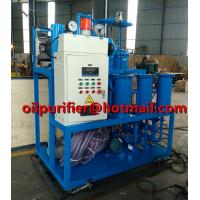 Buy cheap Lubricating Oil Purification Plant Hydraulic Oil Recycling Machine Vacuum Type Gear Oil Purifier treatment solution product