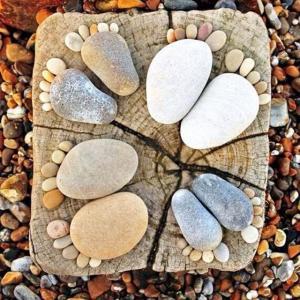 Buy cheap Rock Footmark Small Cobblestones For Garden Cute Sidewalk Backyard product