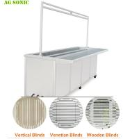 Buy cheap Fast Speed Industrial Ultrasonic Washing Machine For Wood / Vertical Blinds Remove product