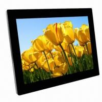 Buy cheap High-resolution LCD Screen Digital Photo Frame with Built-in Loudspeaker and Optional Memory product