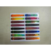 Buy cheap Holographic Reflective Head Back Printed Adhesive Labels in Fishing Lure product