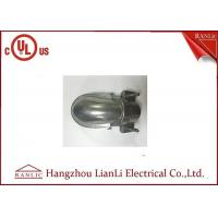 Buy cheap Polishing Finish Galvanized Rigid Steel Conduit Clamp Type , Silver EMT Conduit Caps product