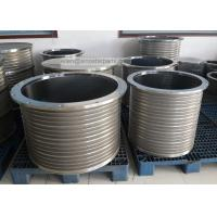 stainless steel wedge wire slotted bar screen basket for pressure screen