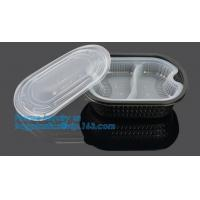 Buy cheap Healthy Plastic Food Storage Box from Freezer to Microwave,lunch box 2 compartment hot microwave food container bagease product