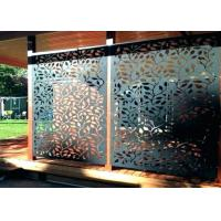 Buy cheap Corrosion Resistance Stainless Steel Decorative Panels With Brushed Surface Treatments product