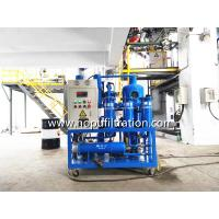 Quality Vacuum Insulation Oil Recycling plant, degassing, Dehydration ,Oil Purification for sale