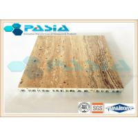 Buy cheap High Strength Honeycomb Stone Panels , Commercial Ceiling Panels Anticorrosive product