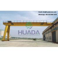 Buy cheap Made in China 5 ton Rail A Frame Double Girder Semi Gantry Crane product