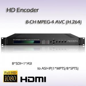 Buy cheap IPTV HD-SDI H.264 HD Encoder REH2208 product