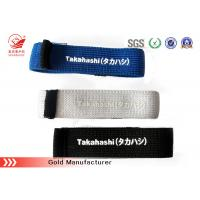 Buy cheap Knitted Black Elastic Hook And Loop Strap Strong Elasticity SGS / ROHS product
