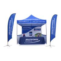 China Custom Advertising Aluminum Cheap 10x10 Waterproof Folding  Event Stretch Outdoor Pop Up Canopy Marquee Trade Show Tent on sale