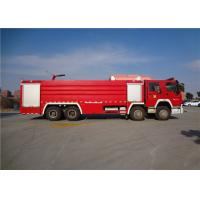 Buy cheap Darley Pump Commercial Fire Trucks 11775×2500×3700mm Dimension Drive 8x4 product