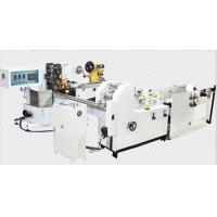 Buy cheap Double Lanes Pocket Tissue Paper Making Machine , Paper Manufacturing Equipment Full Automatic product